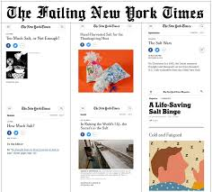ny times thanksgiving breaking the failing new york times morning edition for wednesday