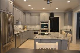Staining Kitchen Cabinets Darker kitchen general finishes grey gel stain staining kitchen