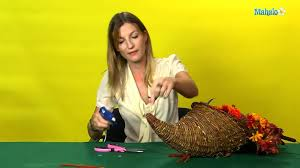 how to make a thanksgiving turkey cornucopia