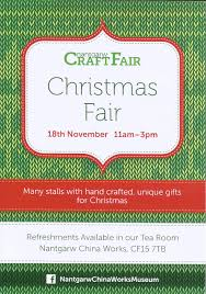 nantgarw christmas craft fair on 18 november at 11 00