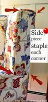 How To Make Slipcovers For Dining Room Chairs 25 Best No Sew Slipcover Ideas On Pinterest Couch Covers