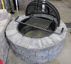 pit kit patio ideas gas pit kits with stoned pit shaped