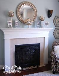 Design For Fireplace Mantle Decor Ideas The Faux Antlers Centerpiece Mantel Decorating Ideas Diy To Ritzy