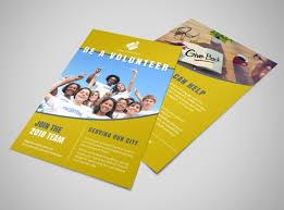 volunteer brochure template be a volunteer church flyer template mycreativeshop