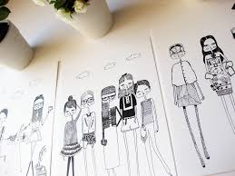 artist etsy owner interview diary sketches atiliay