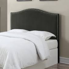 Curved Upholstered Headboard by Gray Headboards You U0027ll Love