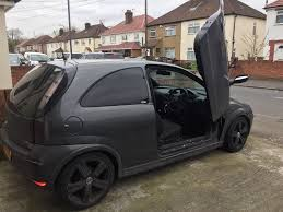 opel modified vauxhall corsa 1 2 modified lambo doors in slough berkshire