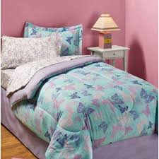 Dragonfly Comforter Pink Blue And Green Butterfly Bedding Sets For Girls Infobarrel