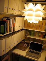 Closet Office Desk 15 Closets Turned Into Space Saving Office Nooks