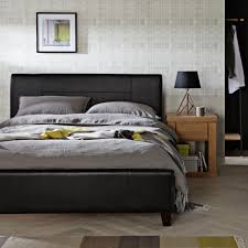 Milan Bed Frame Faux Leather Upholstered Bed Frames The Furniture Co