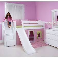 Princess Bunk Bed With Slide Bunk Beds Small Princess Bunk Bed With Slide White