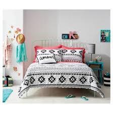 Target Black And White Comforter Black U0026 White Printed Comforter Xhilaration Target
