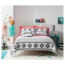 Target Xhilaration Comforter Black U0026 White Printed Comforter Xhilaration Target
