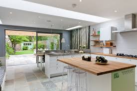 kitchen mural ideas 50 degrees north architects ground floor rear extension in south