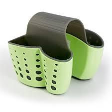 Amazoncom Sponge Holder Sink Caddy Soap Holder For Kitchen - Kitchen sink sponge holder
