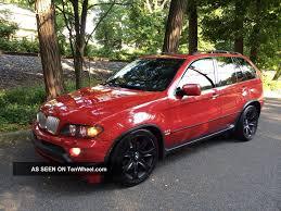 Bmw X5 Red - 2004 bmw x5 4 8is u2013 xxi century cars