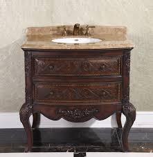 Single Bathroom Vanities Legion 36 Inch Vintage Single Bathroom Vanity Wb 1636l In Cherry