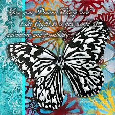 beautiful inspirational butterfly flowers decorative design