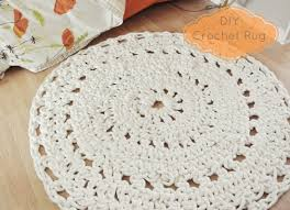 diy crochet rug dainty fingers