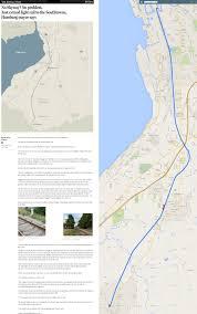 Metro Light Rail Map by Buffalo Light Rail