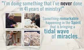 prayer cloth wave after wave of miracles benny hinn ministries