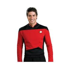 Star Trek Halloween Costume Star Trek Generation Dlx Command Uniform