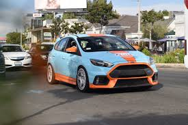 gulf car gulf ford focus rs madwhips