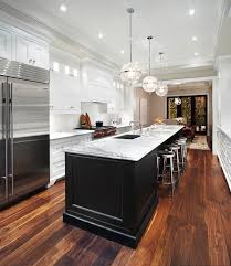 galley kitchen with island kitchen island transitional kitchen the design company