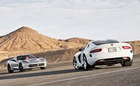corvette vs viper is the 2014 corvette stingray killing sales of the srt viper