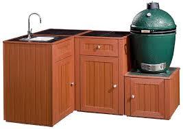 Green Egg Kitchen - outdoor kitchens big green egg 4 piece kitchen