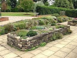 Rock Garden Beds Building A Rock Garden Bed How To Maintain A Garden Rock Border