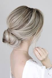 hair tutorial simple bun hair tutorial alex gaboury