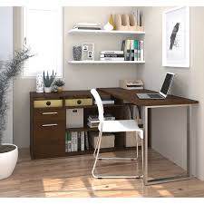 l shaped desk with hutch left return solay l shaped desk