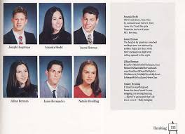 high school yearbooks from the past natalie portman 1999 syosset high school yearbook wars