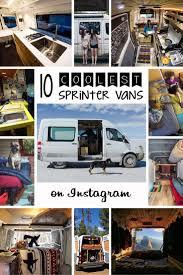 camper van the 10 coolest sprinter camper vans on instagram bearfoot theory