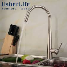 nickel faucets kitchen best 25 brushed nickel kitchen faucet ideas on