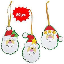 amazon com foam snowman stocking christmas ornament craft kit