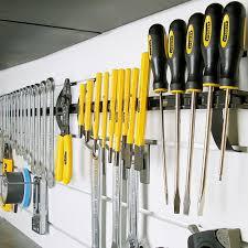 magnetic tool holder the garage organizer