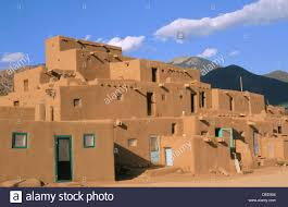 pueblo adobe houses evening light on the 3 story adobe north house world heritage