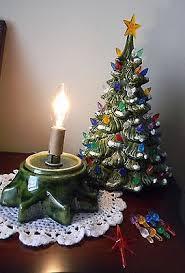 vintage ceramic christmas tree vintage ceramic trees vintage vs new history ebay throughout