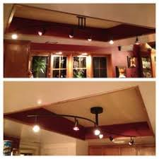 Fluorescent Light For Kitchen How To Replace A Fluorescent Light With A Track Light Tutorials
