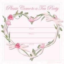 tea party invitation template plumegiant com
