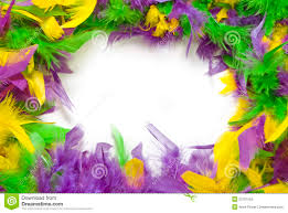 mardi gras picture frame mardi gras feather frame stock image image of purple 22701555