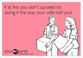 Funny Wedding Wishes Cards Two Golden Rules To A Happy Marriage 1 The Wife Is Always Right
