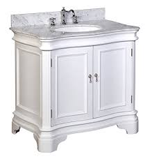 Countertop Cabinet Bathroom Kitchen Bath Collection Kbc A36wtcarr Katherine Bathroom Vanity