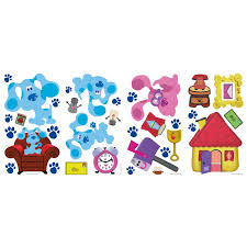 roommates rmk1914scs blues clues peel and stick wall decals roommates rmk1914scs blues clues peel and stick wall decals