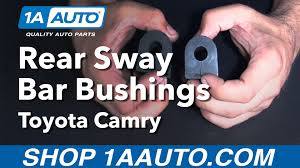 auto parts lexus es300 how to replace install rear sway bar bushings 1997 99 toyota camry