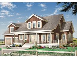 Farmhouse With Wrap Around Porch Britton Farm Country Home Plan 032d 0625 House Plans And More