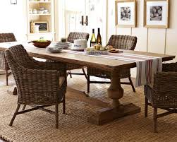 Dining Room Table For 2 Balustrade Dining Table Rectangle Williams Sonoma Inside