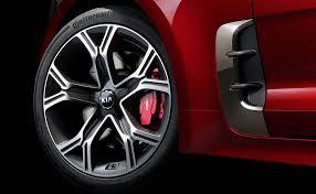 kia stinger tire sizes kia stinger forum